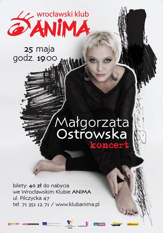 Koncert Małgorzaty Ostrowskiej